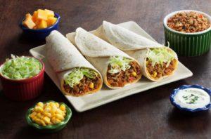 Burritos com Atum